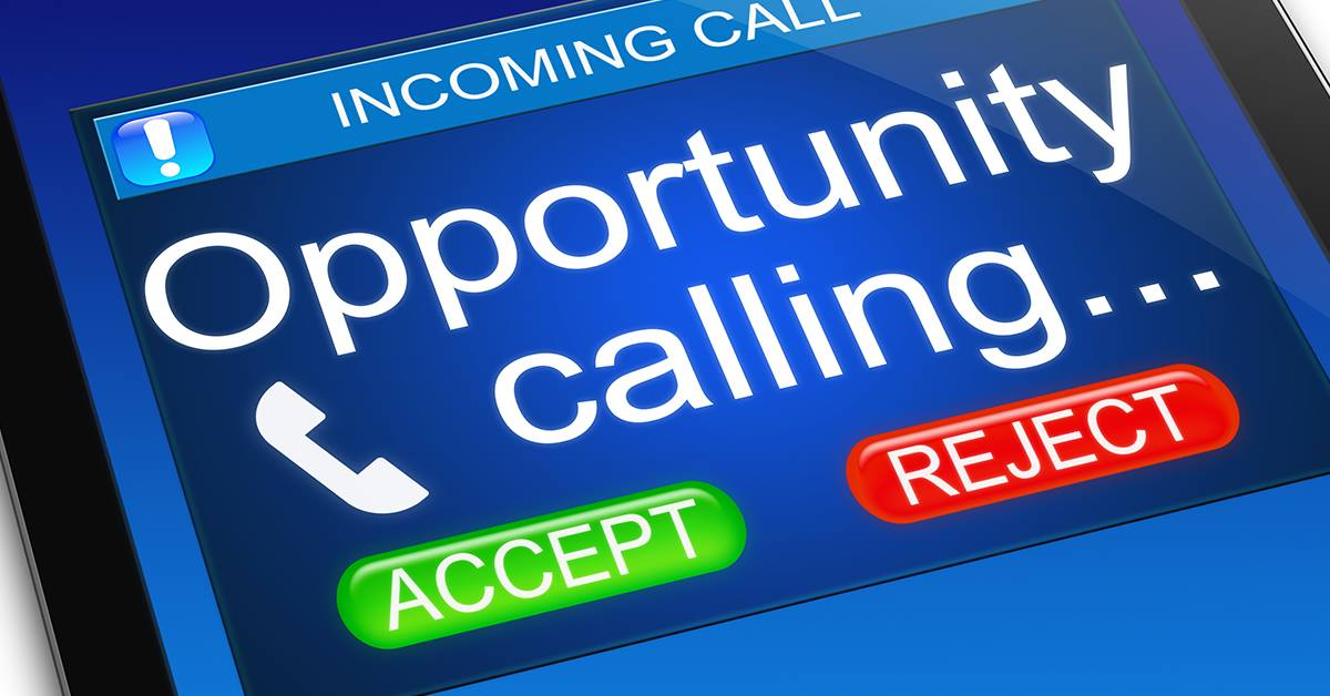 Opportunity Calling...
